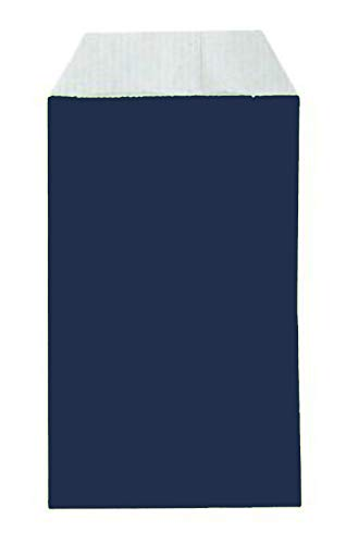 Yearol K04A 250 Sobres bolsas de papel kraft pequeñas sin asas. Especial para regalo, comunion, tiendas, comercio, joyería, bisutería etc. 7 cm. x 12 cm. 60 gr/m, Azul