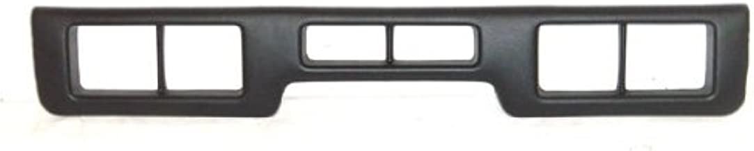 OE Replacement Ford Front Bumper Impact Strip (Partslink Number FO1057272)