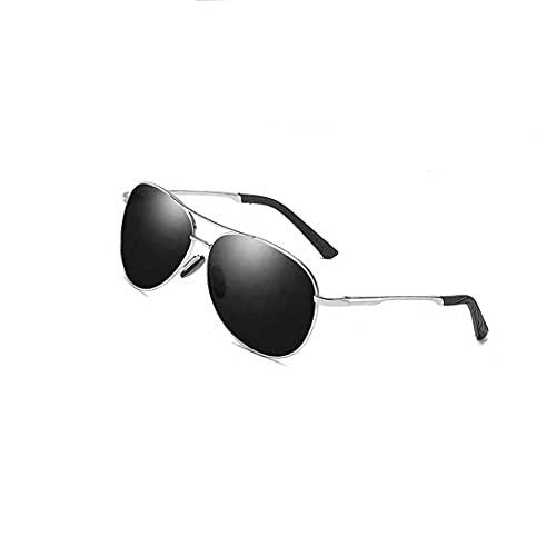 GXFCB Fashion Photochromic Sun, Conductor Conducción Gafas de Sol, Fotografía Hipster Street Sombreado Gafas de Sol, anteojos Anti-Ultravioleta,F