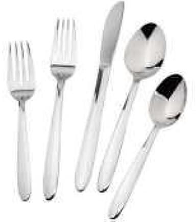 Winco 0082-01 Windsor Juego de cucharillas de acero inoxidable 18-0, 24 piezas