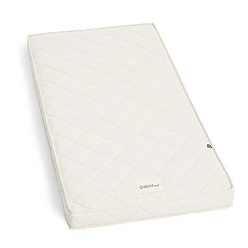 The Little Green Sheep Natural Twist Cot Bed Mattress (140 cm x 70 cm),off-white