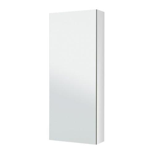 2 XIKEA GODMORGON Spiegelschrank mit einer Tür; (40x14x96cm)