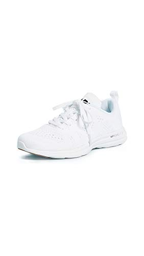 APL: Athletic Propulsion Labs Women's Techloom Pro Sneakers, White/Black/Gum, 9.5 M US
