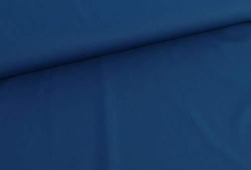 Qualitativ hochwertiger, Leichter und dehnbarer Softshell in unifarben Petrol als Meterware zum Nähen von Baby, Kinder- und Damenkleidung, 50 cm