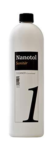 Nanotol Sanitr Cleaner Concentrato – Detergente sanitario di alta qualità e anticalcare – Preparazione per Nanotol Protector-1000 ml