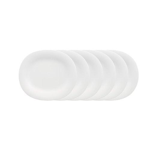 Villeroy & Boch New Cottage Basic - Juego de platos llanos (6 unidades, ovalados)