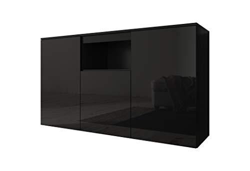 muebles bonitos Credenza Modello Nevada Colore Nero