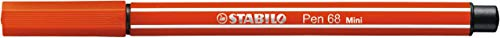 STABILO Pen 68 mini – Rotulador premium mini – Edición limitada Sweet Colors – Estuche con 15 colores
