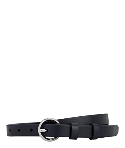 Liebeskind Damen Essential Belt07E9 Gürtel, Blau (Navy Blue 5838), 6641 (Herstellergröße: 90)