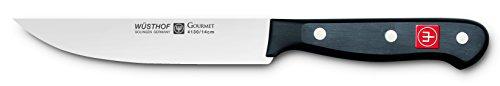 Wüsthof Küchenmesser, Gourmet (4130-7/14), 14 cm Klingenlänge, Edelstahl, rostfrei, für Spülmaschine, schmales Kochmesser extrem scharf