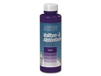 Voll- und Abtönfarbe verschiedene Farben 250ml,- violet-250 ml