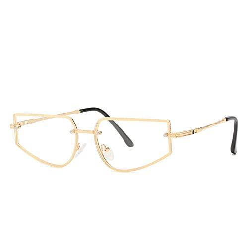 Bomoka Gafas de Sol, Gafas de Sol, Gafas de Sol Irregulares del Océano, Cajas de Gafas de Regalo (Size : Transparent Film)