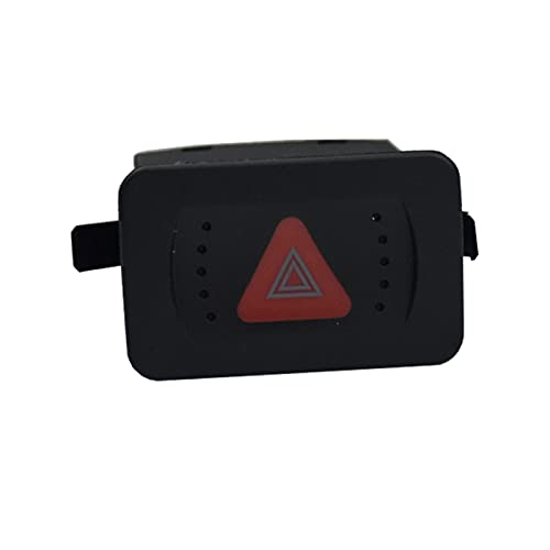 Hermoso Ajuste for VW Golf MK4 Bora Peligro de Emergencia Flasher Advertencia Botón de Interruptor de luz 1J0953235C 1J0 953 235C
