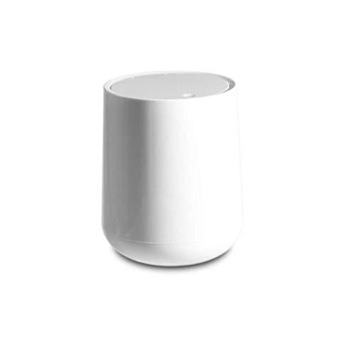 ZKCXIM Press Mini Trash can Home Office Bathroom Trash can Desktop Trash can Desk Trash can Bin Trash Bin Storage Box