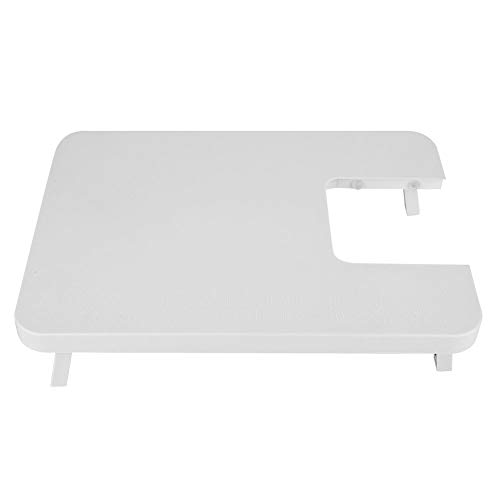 Liyeehao Mesa de máquina de Coser, Tablero de extensión Plegable de Escritorio de plástico ABS con Ranura, Tablero de máquina de Coser doméstica para Principiantes Costura en el hogar