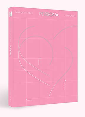 BTS MAP VAN DE ZEL: PERSONA [Willekeurig Ver.] CD + PHOTOBOOK + Mini Book + Photocard + Post card + Clear Picket + Photo Film + Folded Poster +Extra Gift (Standee action figure & Hologram fotokaarten)