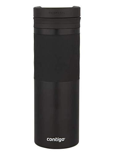 *Contigo Thermobecher Glaze Twistseal, Edelstahl Isolierbecher, Kaffebecher to go, auslaufsicher, spülmaschinenfester Deckel BPA-frei, 470 ml*