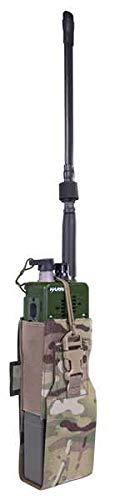 WARRIOR - A.S. Pochette radio MBITR/Harris Laser Cut - Multicam.
