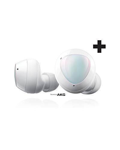 Samsung Galaxy Buds+ Plus, True Wireless Earbuds (Wireless Charging Case included), White – US...