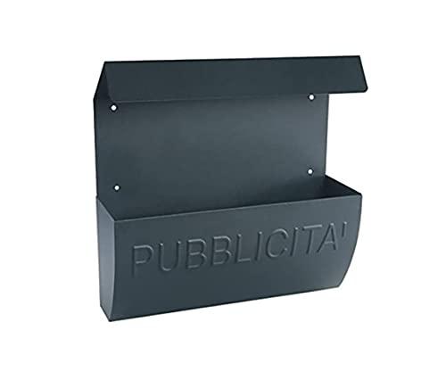 Kippen 10004V Cassetta Porta Pubblicità Modello Deal. Colore Antracite, Dimensioni: 380x350x100 mm