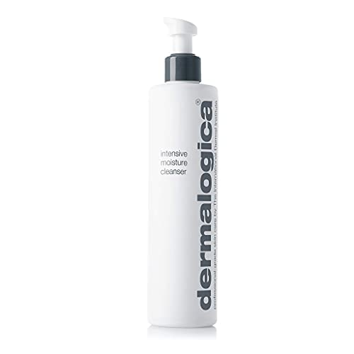 Dermalogica Intensive Moisture Cleanser (10 Fl Oz) Hydrating Face Wash for Dry Skin - Cleans Skin Leaving it Feeling Smoother, Softer, and More Luminous