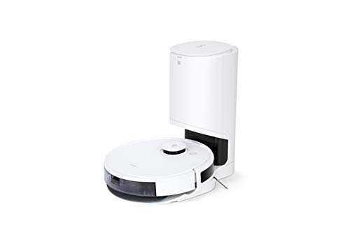 ECOVACS N8 PRO+ (Neuheit 2021): Roboterstaubsauger mit Absaugstation – leistungsstarker 2-in-1 Saugroboter mit Wischfunktion, 3D-Hinderniserkennung, dToF-Laser-Navigation: App, Alexa, Google Home