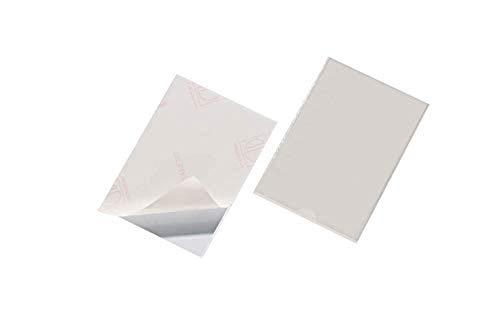 Durable 827619 zelfklevende tas Pocketfix (binnenformaat 148 x 105 mm, zonder insteekplaat) 25 stuks transparant