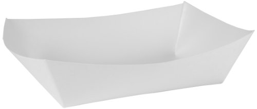 Southern Champion Tray 0557 #500 Paperboard Food Tray, 5 lb Capacity, White (Pack of 500)