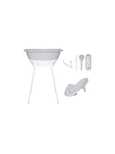 LUMA - Bañera/asiento de baño … Color Light Grey (Gris claro)