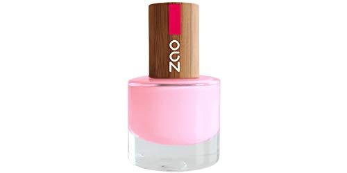 ZAO Nagellack 654 pink mit Bambus-Deckel (Naturkosmetik) rosa