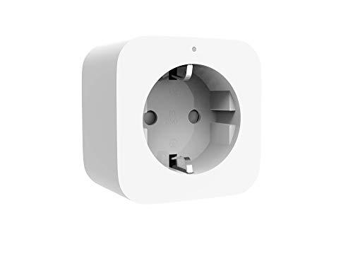 Xiaomi Mi Smart Plug (Zigbee) Ferngesteuerte Steckdose (Steuerung von Licht, elektronschen Geräten per iOS/Android Smartphone via Mi Home App o. Sprachassistent, Timerfunktion, Stromverbrauchsmessung)