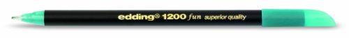 Edding 1200 - Paquete de 5 rotuladores, color azul celeste