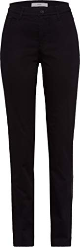 BRAX Damen Style Mary City Sport Premium Five-Pocket Slim Fit Hose, Perma Black, W31/L30(Herstellergröße: 40K)