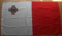 Flagge Malta 90 x 150 cm Fahne