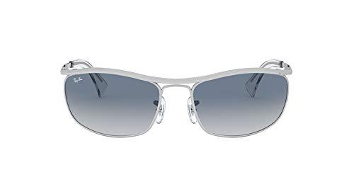 Ray-Ban 0RB3119 Gafas de Sol, Silver, 62 para Hombre