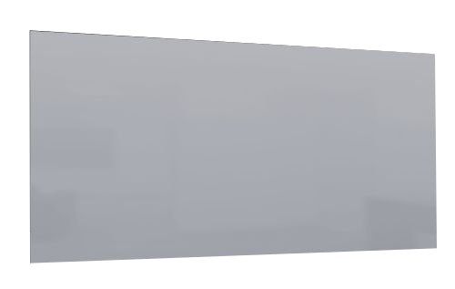 Fenix 5437162 Verwarming/infrarood glasverwarming E GS spiegel, verwarmingspaneel van frameloos glas voor exclusieve woon- en kantoorruimtes voor wand- en plafondmontage, 600 W, 1185 x 585 x 41 mm