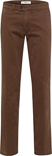 BRAX Herren Style Evans Thermo Hose, Nougat, 34W / 30L Sondergröße: 245U/ Unterbund kurz