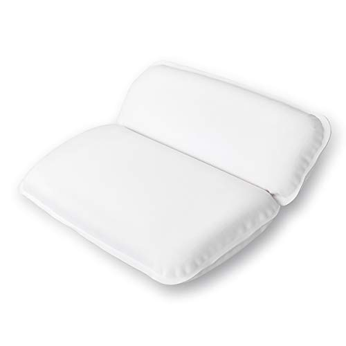 Yimobra Comfortable Spa Bathtub Pillow for Shoulder and Neck Support, Extra Soft, 14.5 x 11 Inches,...