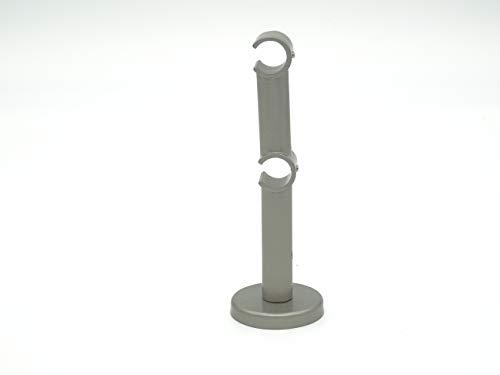 Metablo - Barras interiores dobles para barras de cortina con interior de 20 mm de diámetro