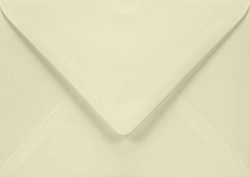 Netuno 50 buste da lettera avorio formato B6 125x175 mm 120g Aster Smooth Ivory buste lettereper partecipazioni matrimonio inviti battesimo feste di compleanno fidanzamento