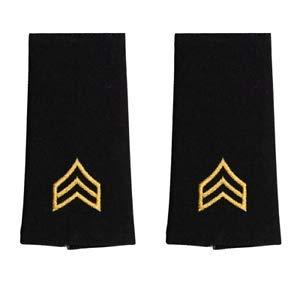 US Army Uniform Genuine U.S. Army Epaulet: Sergeant - Large Size (Male)