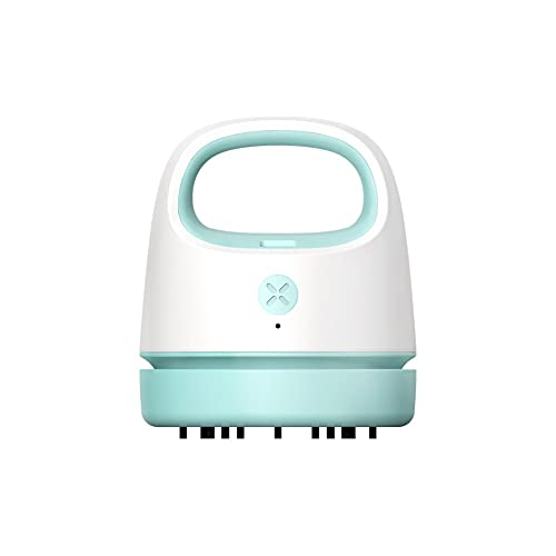 pzcvo Mini Aspirador Mini Aspiradora De Mesa Aspiradora de Mesa Mini aspiradora de Escritorio Mesa de vacío Limpiador Blue,One Size