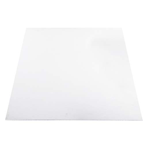 iplusmile Tablero de PC Transparente Tablero de Acrílico Tablero de Aislamiento Térmico de Lámina de Policarbonato Transparente para La Fabricación de Suministros Y Máquinas de Troquelado de 2
