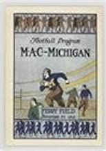 Vs. Michigan Agricultural College 1918 #45/400 (Football Card) 2002-07 TK Legacy Michigan Wolverines - Program Covers #PC2