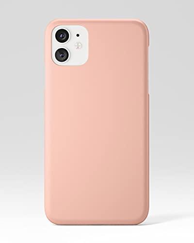 flapgrip® Silikon Handyhülle flapcase   Schutzhülle für iPhone 11   Handy Hülle Kratz- und stoßfest   Hochwertige Handy-Hülle aus Höhle der Löwen   Mikrofaser Futter (Koralle)