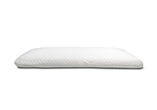 Elite Rest Slim Sleeper - Natural Latex Foam Pillow, Premium Cotton Cover, Great for Back and...