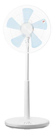 [山善] 扇風機 35cm ハイリビング扇 押しボタンスイッチ 風量3段階調節 タイマー付き ホワイト YHT-CK351(W) [メーカー保証1年]