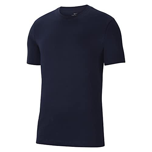 NIKE Camiseta Unisex para niños Team Club 20 tee (Youth), Unisex niños, Camiseta, CZ0909-451, Azul, Blanco, 13-15 Años