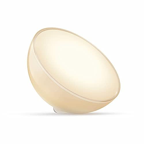 Philips Lighting Hue GO Compatible Bluetooth, Fonctionne avec Alexa, Blanc
