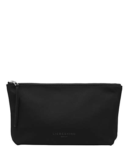 Liebeskind Berlin Betty Cosmetic Pouch Taschenorganizer, Medium (15 cm x 27 cm x 8.5cm), black